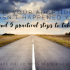 Why Your Adoption Hasn't Happened Yet